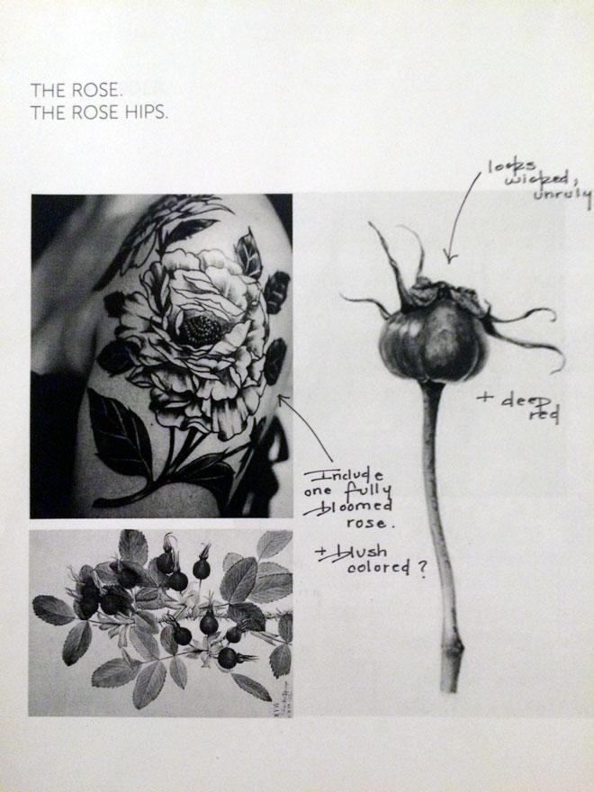 Tattoo notes; 2/4.